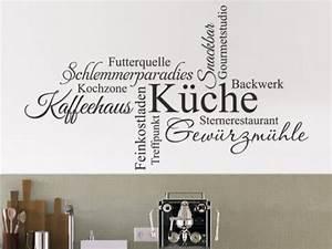 Wandtattoo Sprüche Küche : wandtattoos f r die k che wandtattoo spr che und k chenmotive ~ Frokenaadalensverden.com Haus und Dekorationen