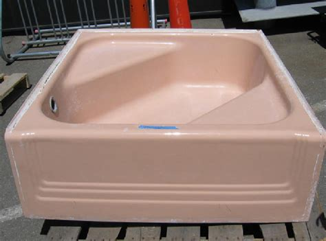 """Pink tubs, pink sinks, pink toilets, pink tile - """"Save the"""