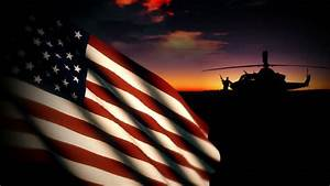 Soldier Salute US Military Flag Stock Footage Video ...