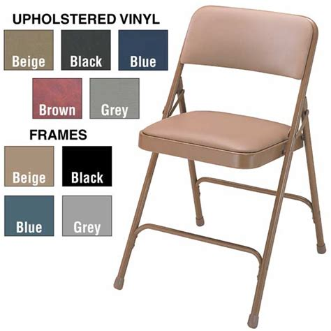 folding chairs upholstered vinyl folding chairs