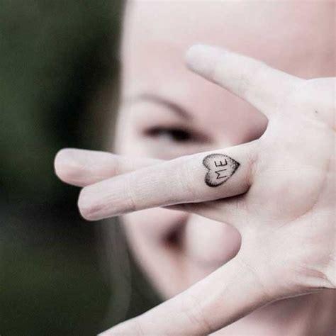 elegant finger tattoos  women tattooblend