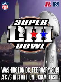 Super Bowl Logos All Super Bowl 53 Logo Concept