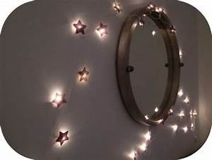 Guirlande Lumineuse Chambre Fille : guirlande lumineuse 300 pinterest upcycling and commercial ~ Nature-et-papiers.com Idées de Décoration