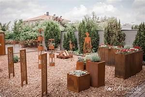 Holzdeko Für Den Garten : edelrost f r garten wohnen rostschmiede ~ Sanjose-hotels-ca.com Haus und Dekorationen