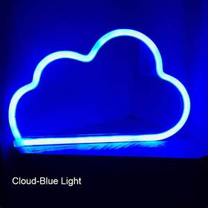 Cloud Neon LED Sign on Storenvy