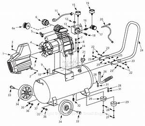 Campbell Hausfeld Hl4101 Parts Diagram For Air
