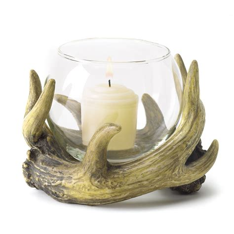 candle holders cheap rustic antler candle holder buy