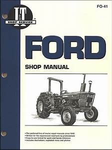 Ford Tractor Repair And Service Manual By Clymer