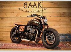 La Triumph Bonneville réinterprétée en un Bobber viril BAAK