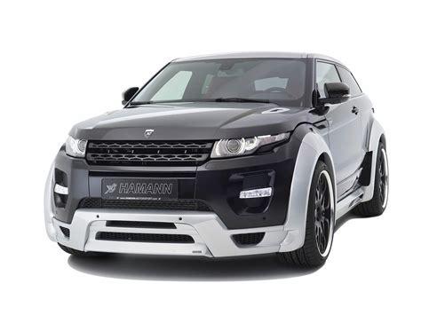 2018 Hamann Range Rover Evoque Studio Front Angle 2