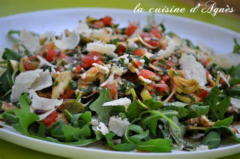 artichaut cuisine salade d artichauts violets blogs de cuisine