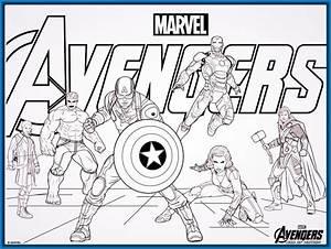dibujos para colorear avengers Archivos Dibujos para Dibujar
