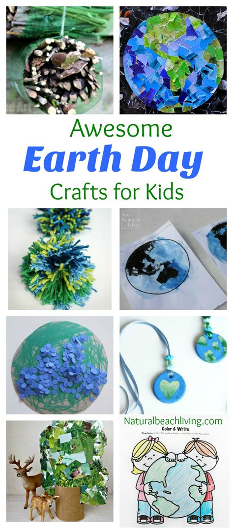 30 creative earth day crafts and activities for 138 | Earth Day crafts pin1