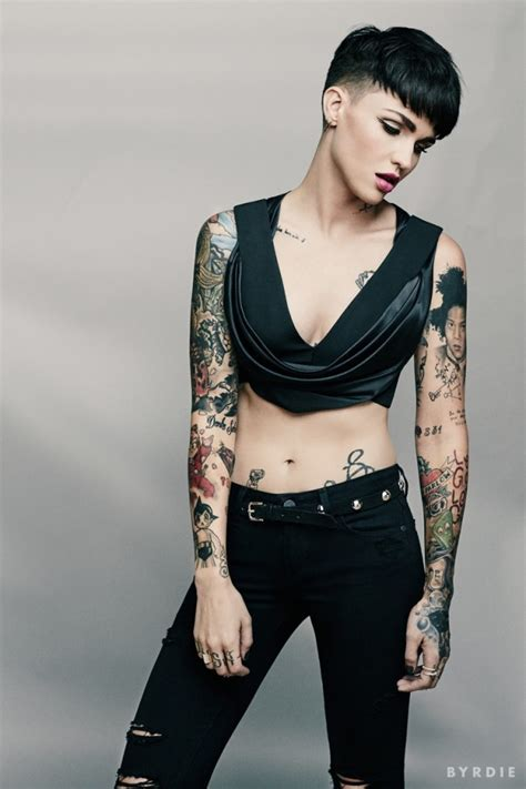 Stunning Ruby Rose Tattoos ? All You Ever Wanted to Know