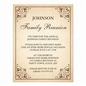 Family Reunion Invitations | Invitations | Pinterest ...
