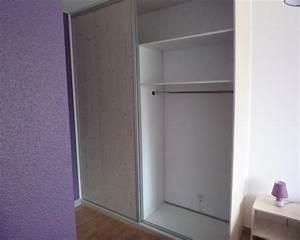 Dressing Avec Porte : photos de dressing armoire murale sur mesure ~ Premium-room.com Idées de Décoration