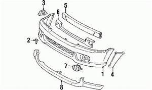 2002 Toyota Sequoia Parts Diagram