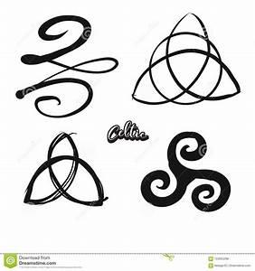 Symboles De Protection Celtique : ensemble de symboles celtiques tir s par la main illustration de vecteur illustration du ~ Dode.kayakingforconservation.com Idées de Décoration