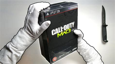 Mw3 Hardened Edition Unboxing! Call Of Duty Modern Warfare