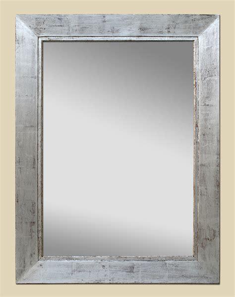 miroir argente