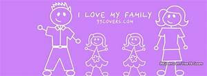 Facebook Cover Photos - I Love My Family Girls Facebook Covers