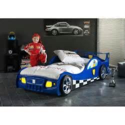 Lit Enfant Voiture : lit enfant voiture monza bleu ~ Preciouscoupons.com Idées de Décoration