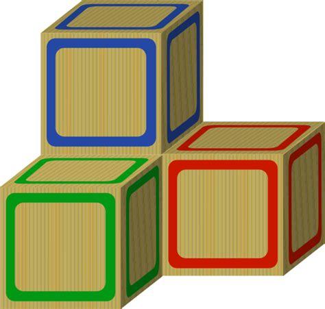 Blocks Clipart Tri Baby 2 Plain Blocks Clip At Clker Vector