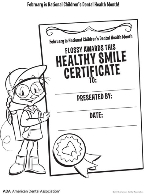 healthy smiles childrens dental health awareness month