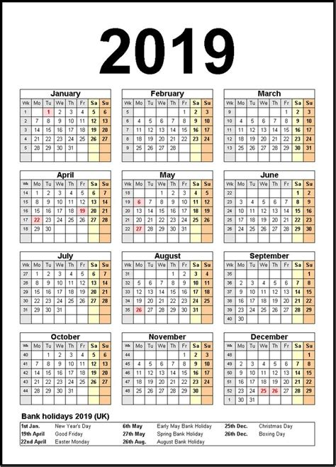 printable calendar  united states holidays monthly