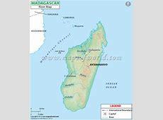 Madagascar River Map
