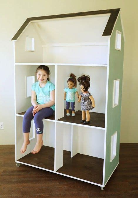 18 doll house plans for this fantastic doll house for 18 quot dolls was just