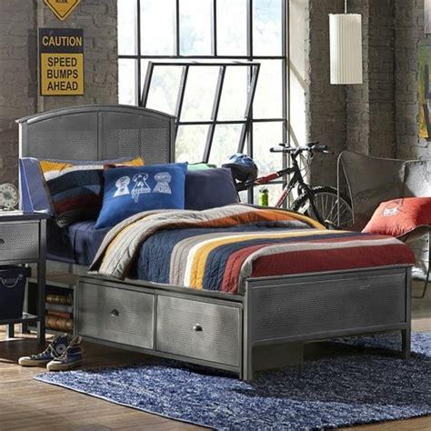 rangement chambre gar輟n où trouver votre lit avec tiroir de rangement archzine fr