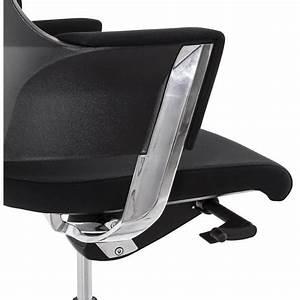 Fauteuil De Bureau Design : fauteuil de bureau design ergonomique barbades en tissu noir fran ais french ~ Teatrodelosmanantiales.com Idées de Décoration