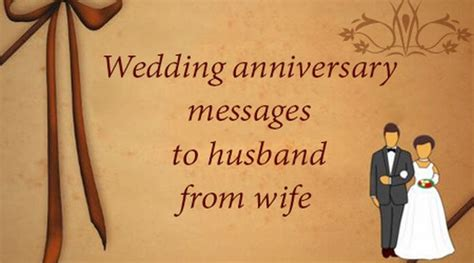 wedding anniversary messages  husband  wife