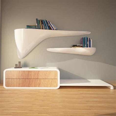 mensole moderne mensole design moderno per soggiorno cloudy