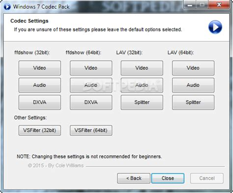 The Best Codec Pack For Windows 7 Windows 7 Codec Pack 4 2 0