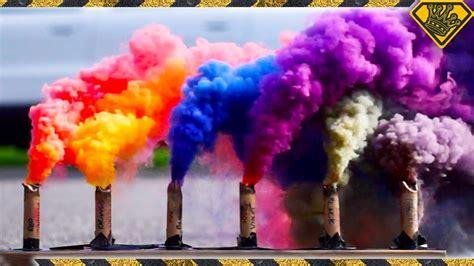 how to make colored smoke