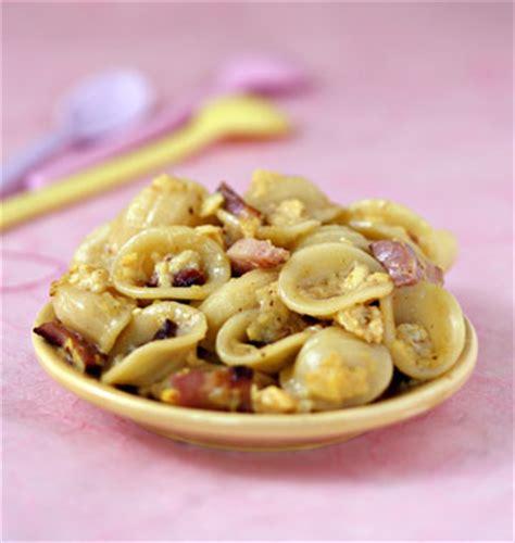 recette pates fraiches aux oeufs orechiettes aux lardons et oeufs brouill 233 s les meilleures recettes de cuisine d 212 d 233 lices