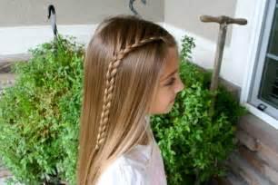 Lace Braid Cute Girls Hairstyles