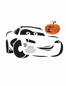 Lightning McQueen Cars Pumpkin Stencil - Woo! Jr. Kids ...
