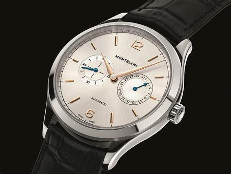 montre montblanc un nouvel heritage de toute beaut 233 montre accessoires