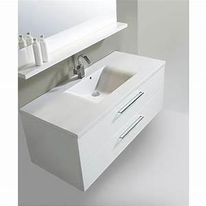 Meuble salle de bain dune 120 3 tiroirs et 1 vasque valenzuela for Salle de bain design avec meuble vasque 80 cm pas cher