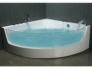 Baignoire Balnéo D Angle : baignoire baln o d 39 angle vitr e palama baignoire baln o ~ Dailycaller-alerts.com Idées de Décoration