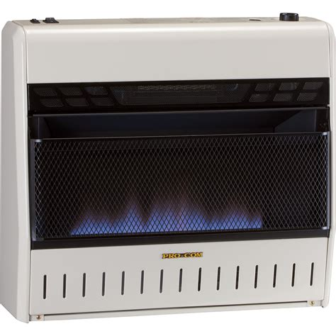 Product Procom Ventfree Trifuel Blue Flame Wall Heater
