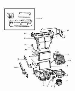 2008 Dodge Grand Caravan A  C  U0026 Heater Unit