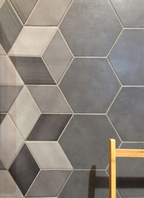 The Hex tiles, part of the CONCRET ROMA collection from
