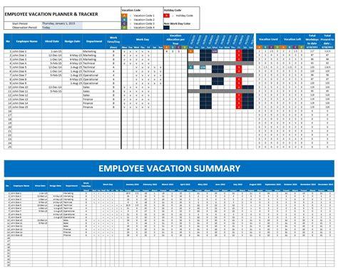 vacation calendar template 2017 2016 employee vacation calendars excel calendar template 2018