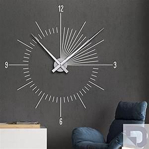 Wanduhr Schwarz Modern : designscape wandtattoo uhr moderne zeit innovative ~ Michelbontemps.com Haus und Dekorationen
