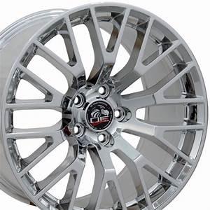 2015 Mustang® GT Wheel - PVD Chrome 18x9