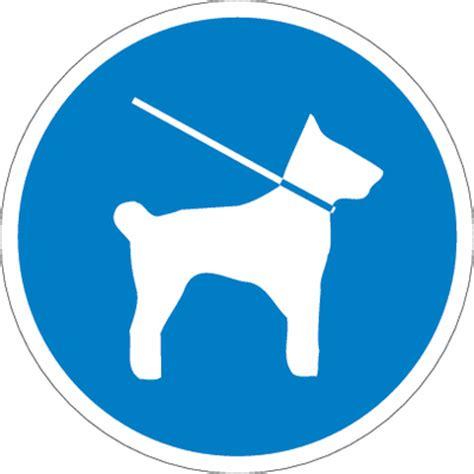 gebotsschilder leinenzwang schilder hunde  die leine